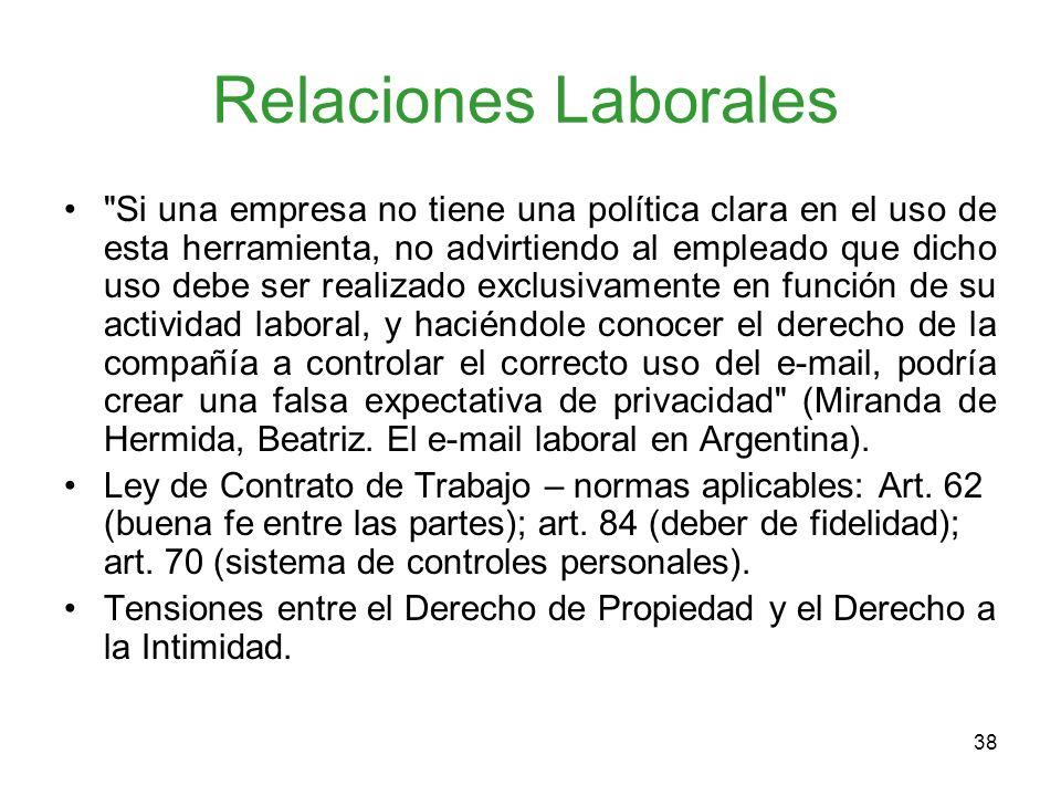 38 Relaciones Laborales