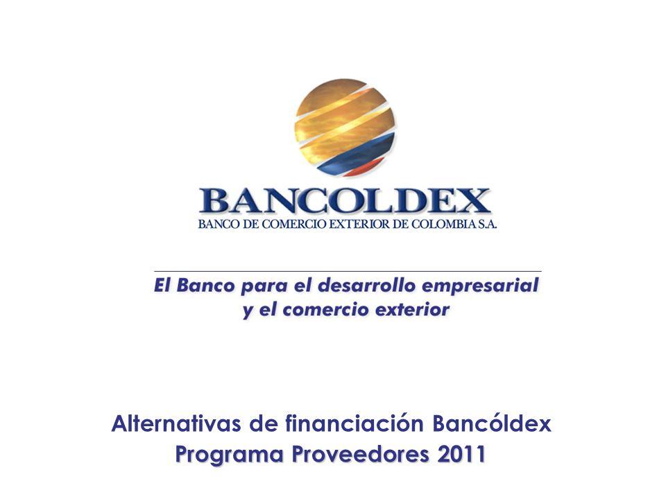 Conclusiones Bancoldex tiene lo que yo necesito (¿puedo usar a Bancóldex en cualquier momento y para cualquier necesidad financiera?) ¿Porque es importante monitorear el costo financiero y la rentabilidad de la empresa.