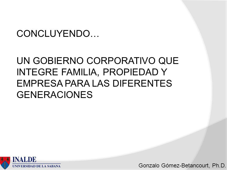 Gonzalo Gómez-Betancourt, Ph.D.