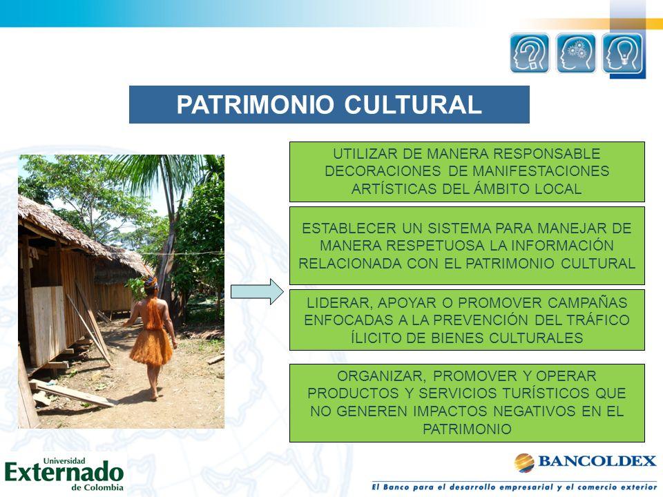 UTILIZAR DE MANERA RESPONSABLE DECORACIONES DE MANIFESTACIONES ARTÍSTICAS DEL ÁMBITO LOCAL ESTABLECER UN SISTEMA PARA MANEJAR DE MANERA RESPETUOSA LA