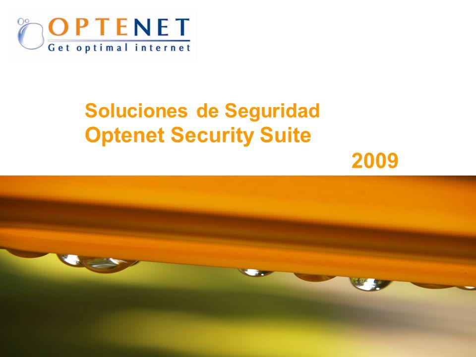 22 OPTENET 4. Optenet SS - WEB FILTER Interface de administración