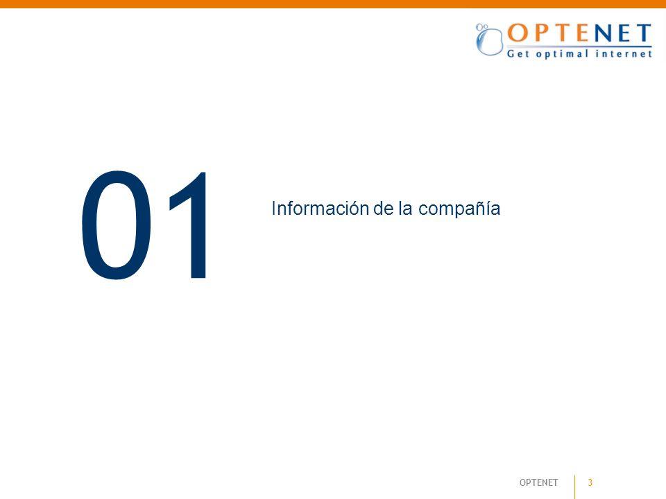 14 OPTENET Flexibilidad y Escalabilidad 4. Soluciones Tecnológicas Empresas
