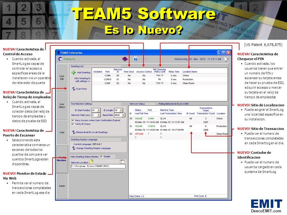 DescoEMIT.com SmartLog V4 Nueva Vista.SmartLog V4 Nueva Vista.