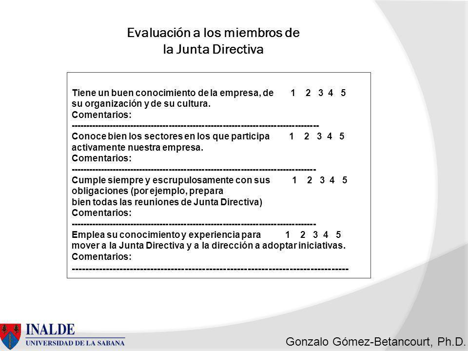 Gonzalo Gómez-Betancourt, Ph.D.¿Qué es ser un Buen Directivo.