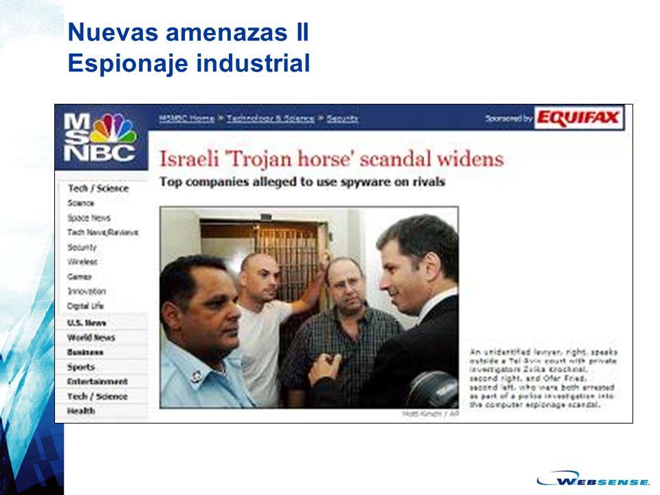 Nuevas amenazas II Espionaje industrial
