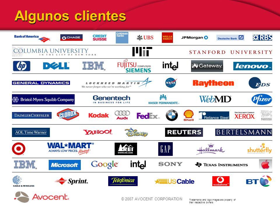© 2007 AVOCENT CORPORATION Cyclades PM: Regletas de alimentación ACS / DSR ®
