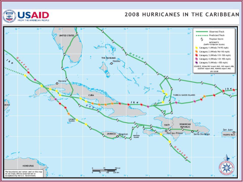 1.Declaración de zona catastrófica por la ONU.