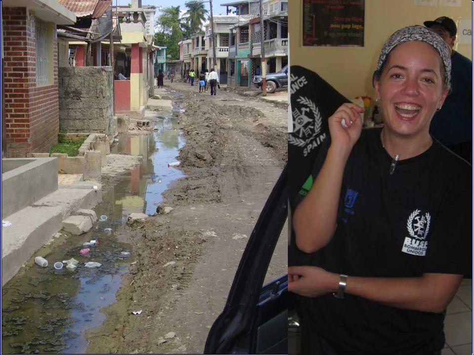 2/10/08 se contacta con dos Guardia Civiles españoles de la UNPOL/MINUSTAH 3/10/08 Visita a la zona de Belle Riviere.