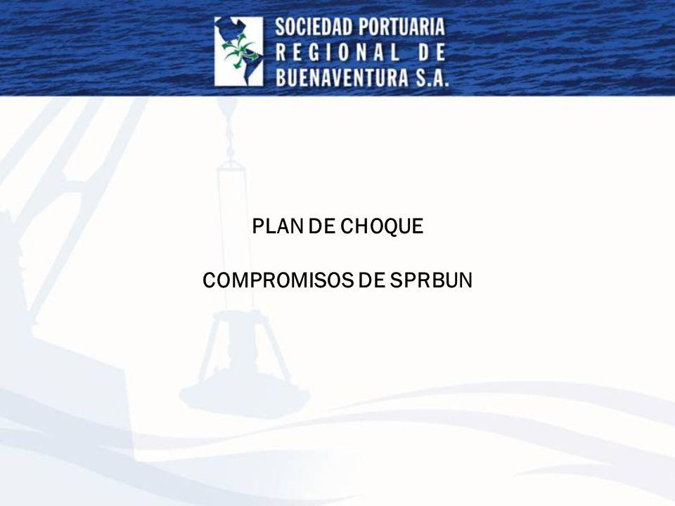 PLAN DE CHOQUE COMPROMISOS DE SPRBUN
