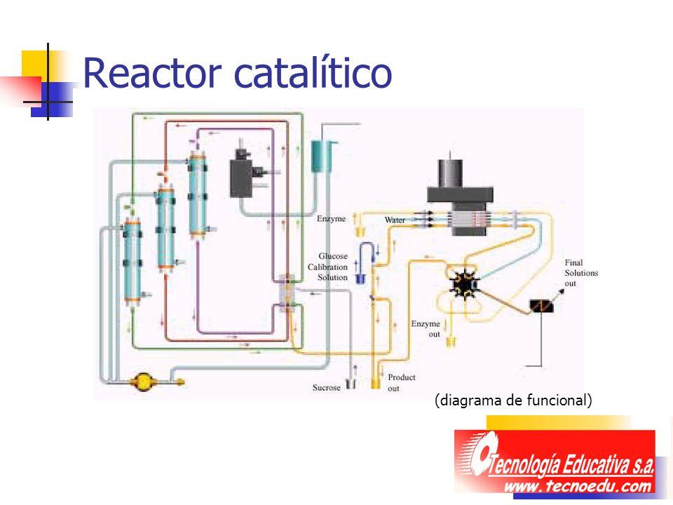 Reactor catalítico (diagrama de funcional)