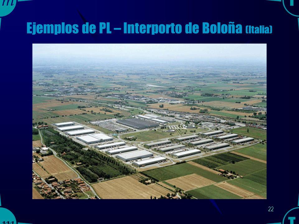 21 Ejemplos de PL – Centro de Transportes de Madrid