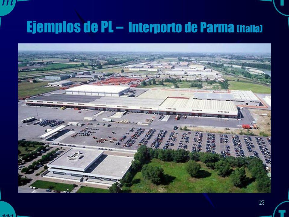 22 Ejemplos de PL – Interporto de Boloña (Italia)