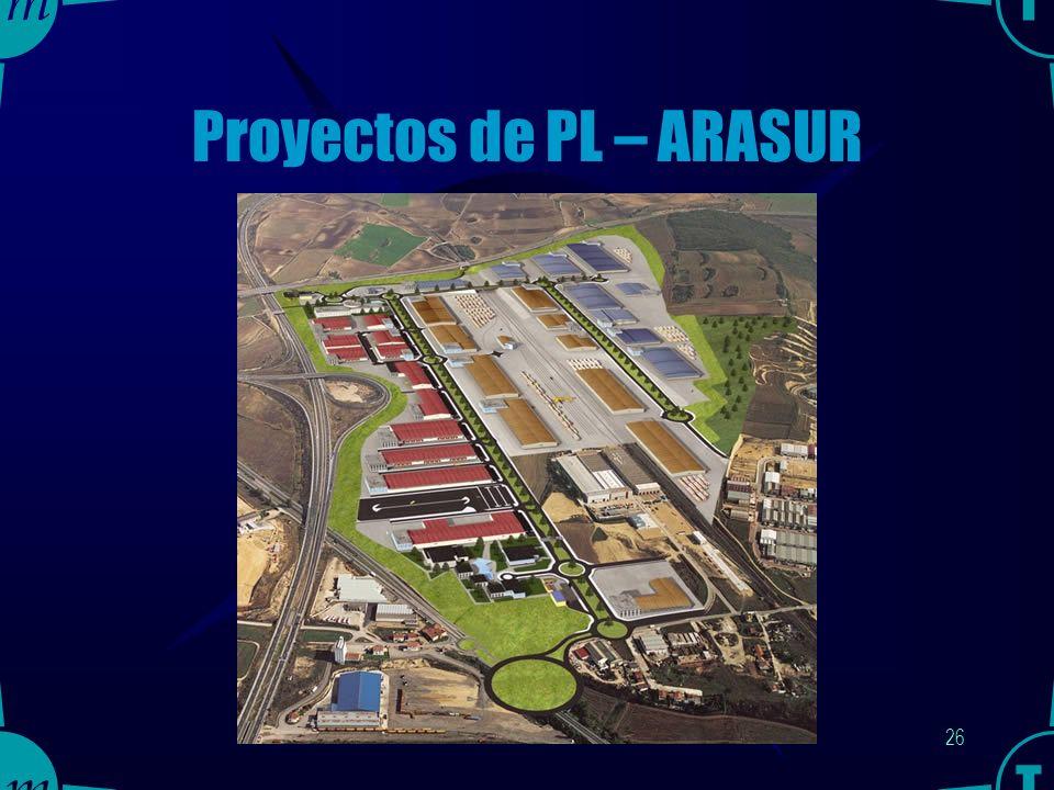25 Proyectos de PL – ARASUR