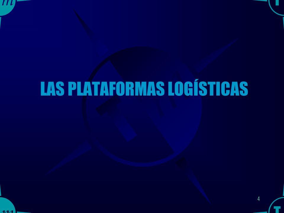 3 Contenido de la CONFERENCIA Las Plataformas Logísticas.