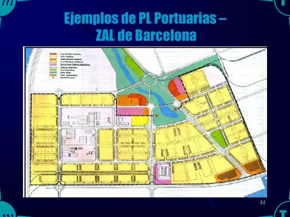 43 Fuente: Guía para el Desarrollo de Zonas de Actividades Logísticas Portuarias, Ente Puertos del Estado, España