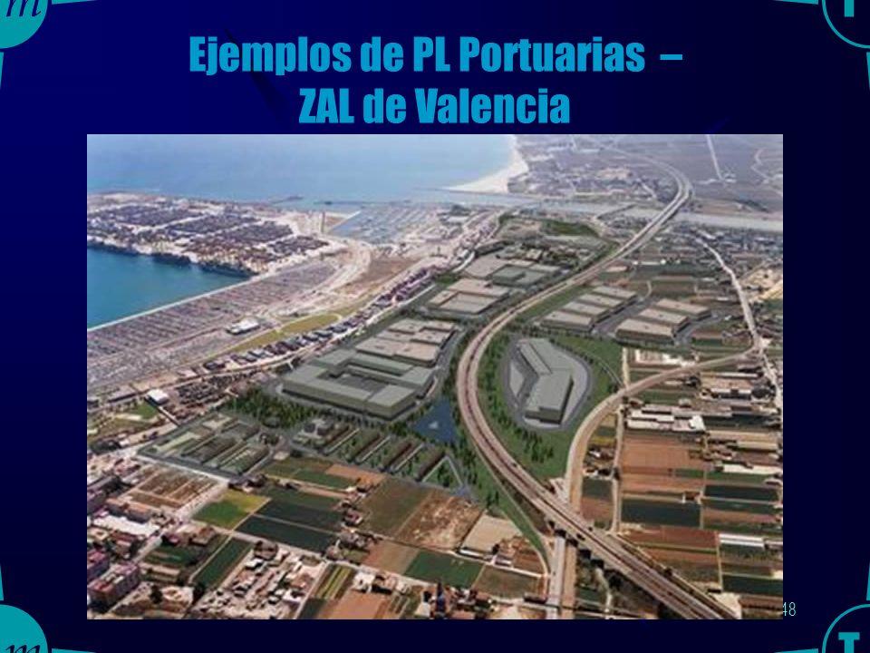 47 Ejemplos de PL Portuarias – ZAL de Valencia