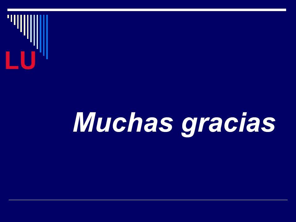 LU Muchas gracias