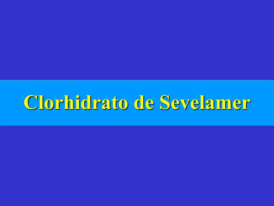 Clorhidrato de Sevelamer