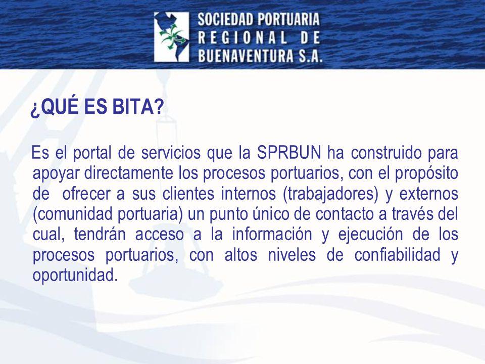 Es el portal de servicios que la SPRBUN ha construido para apoyar directamente los procesos portuarios, con el propósito de ofrecer a sus clientes int