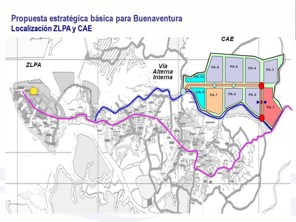 Propuesta estratégica básica para Buenaventura Localización ZLPA y CAE Propuesta estratégica básica para Buenaventura Localización ZLPA y CAE PA-1 PA-