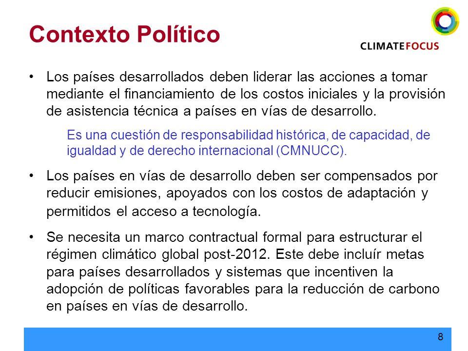 9 Cambio Climático - Historia 1988: Panel Intergubernamental de Cambio Climático (IPCC) 1992: Convención Marco de las Naciones Unidas sobre el Cambio Climático 1997: Protocolo de Kioto 2000: Rompimiento de la CoP-6 2001: Bush anuncia el retiro de los EE.UU.
