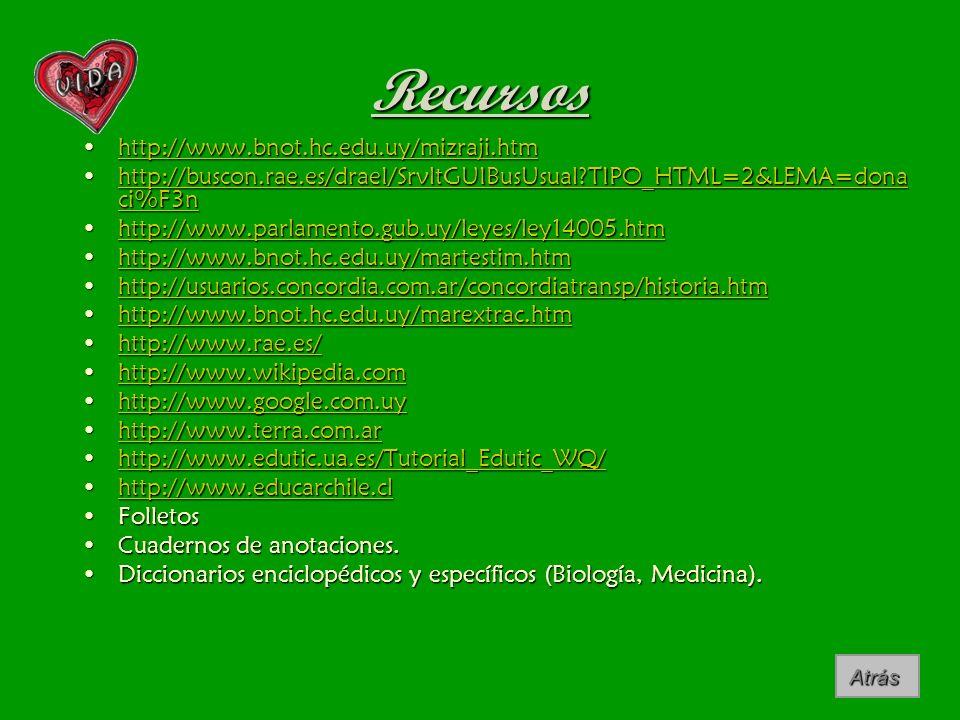 Recursos http://www.bnot.hc.edu.uy/mizraji.htmhttp://www.bnot.hc.edu.uy/mizraji.htmhttp://www.bnot.hc.edu.uy/mizraji.htm http://buscon.rae.es/draeI/Sr