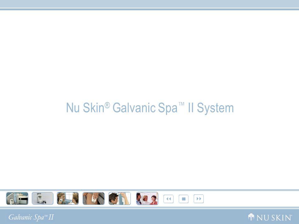 Nu Skin ® Galvanic Spa System II Con cabezales intercambiables para rostro, cuerpo y cuero cabelludo, la Galvanic te permitirá experimentar los multiples beneficios de los Spas en tu casa.