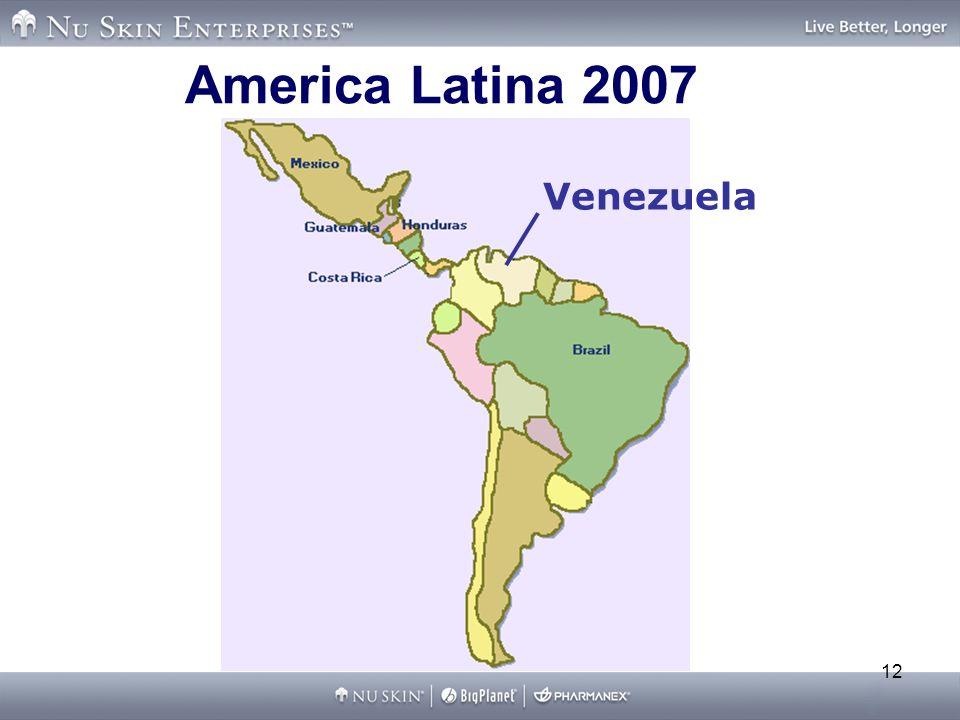 12 America Latina 2007 Venezuela