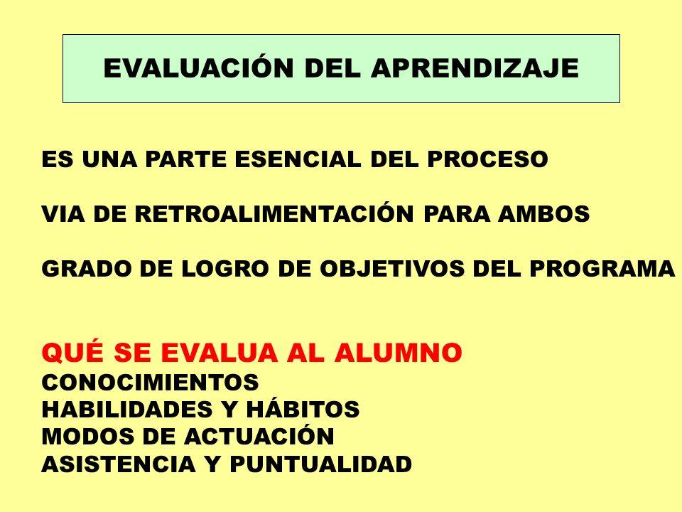 EVALUACIÓN DEL APRENDIZAJE FUNCIONES ESTIMULAR ESTUDIO Y PRÁCTICA: CONTINÚO DOMINAR CONOCIMIENTOS ESENCIALES: T.I.
