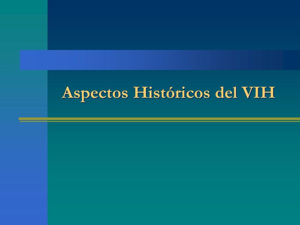 Aspectos Históricos del VIH