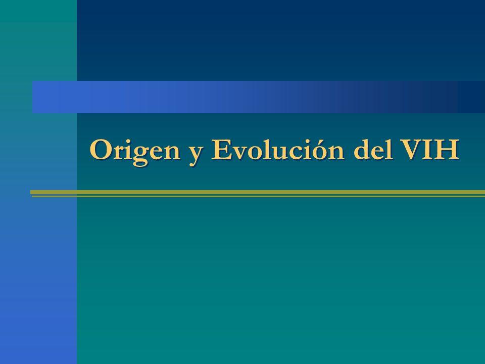 Origen y Evolución del VIH