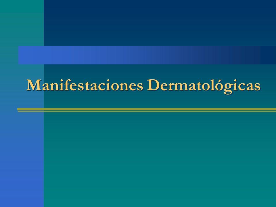 Manifestaciones Dermatológicas
