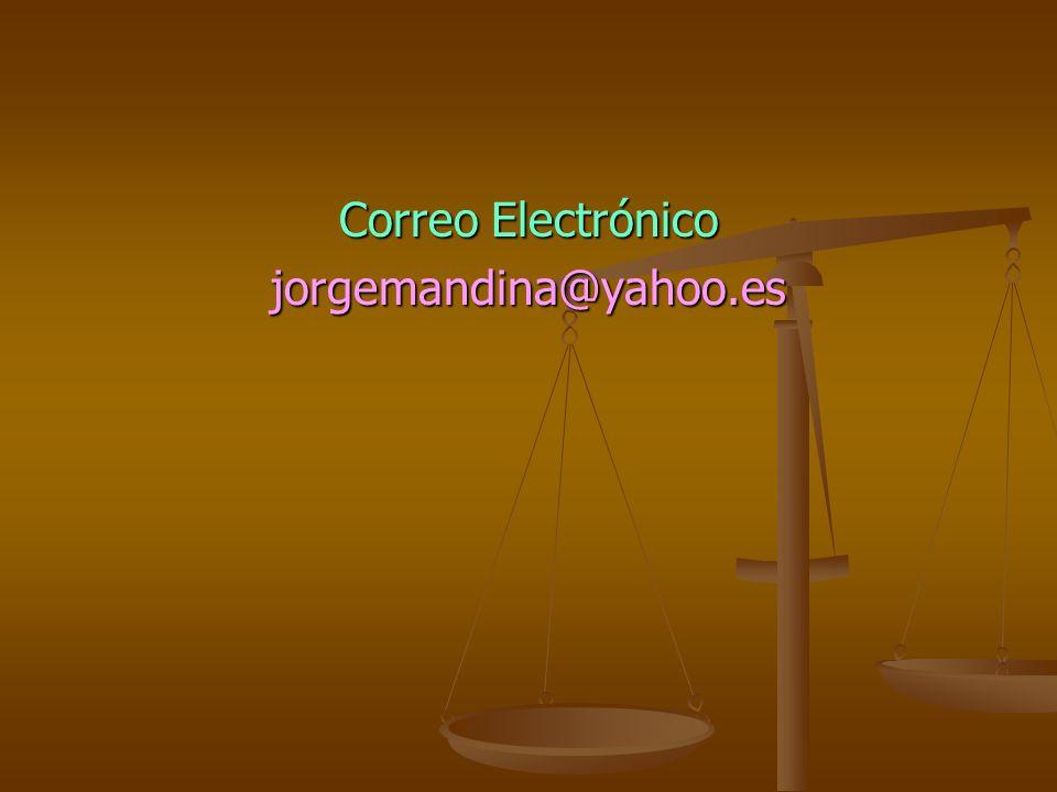 Correo Electrónico jorgemandina@yahoo.es
