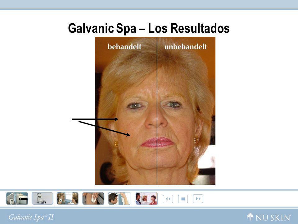 Grandes Resultados despues de 8 semanas con Galvanic Spa 35