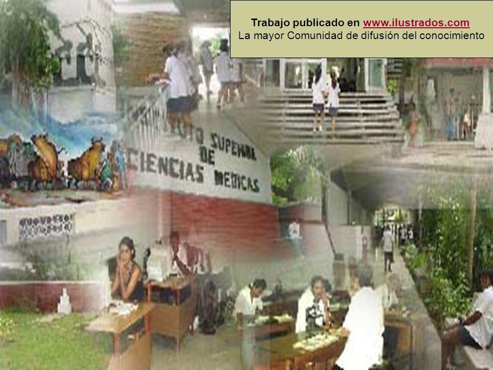 Trabajo publicado en www.ilustrados.com La mayor Comunidad de difusión del conocimientowww.ilustrados.com