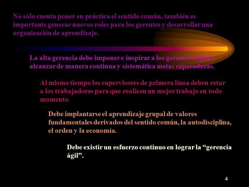 5 Existen dos enfoques para la solución de problemas Uno es la innovación El otro es el kaizen