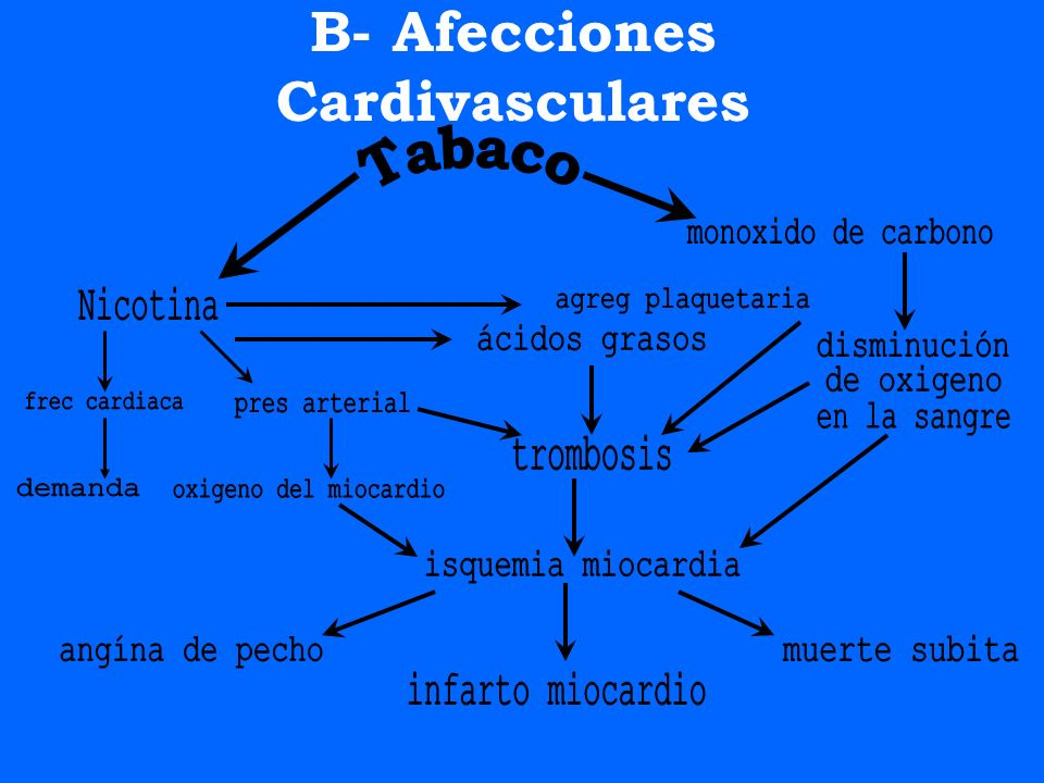 B- Afecciones Cardivasculares