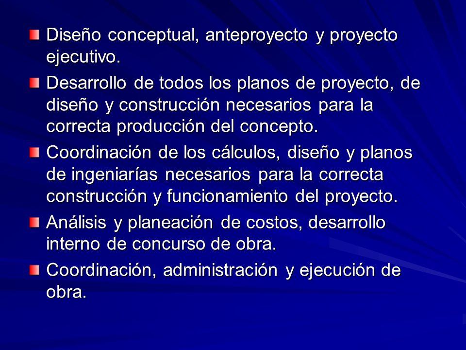 Consideraciones en el Diseño Análisis preliminar del local o inmueble a ser desarrollado. Levantamiento tipográfico o arquitectónico necesario. Anális