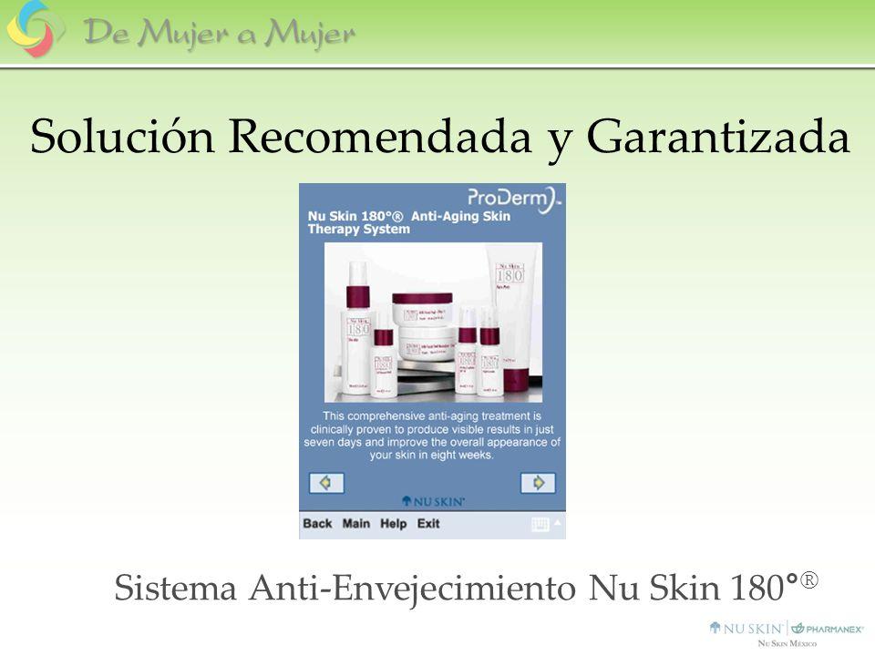 Sistema Anti-Envejecimiento Nu Skin 180 ° ® Solución Recomendada y Garantizada
