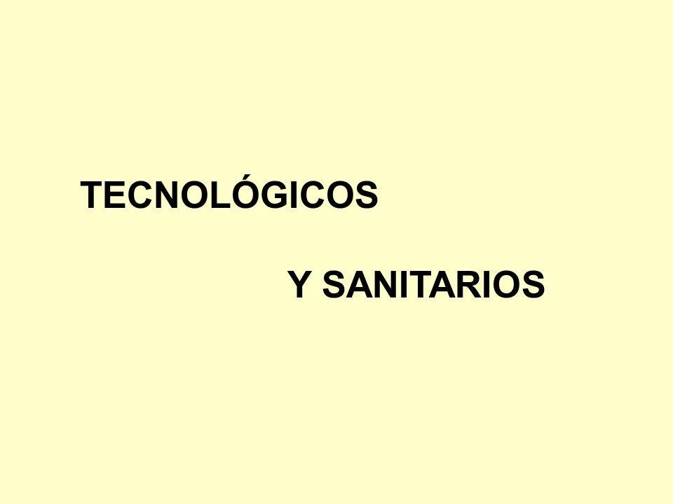 TECNOLÓGICOS Y SANITARIOS