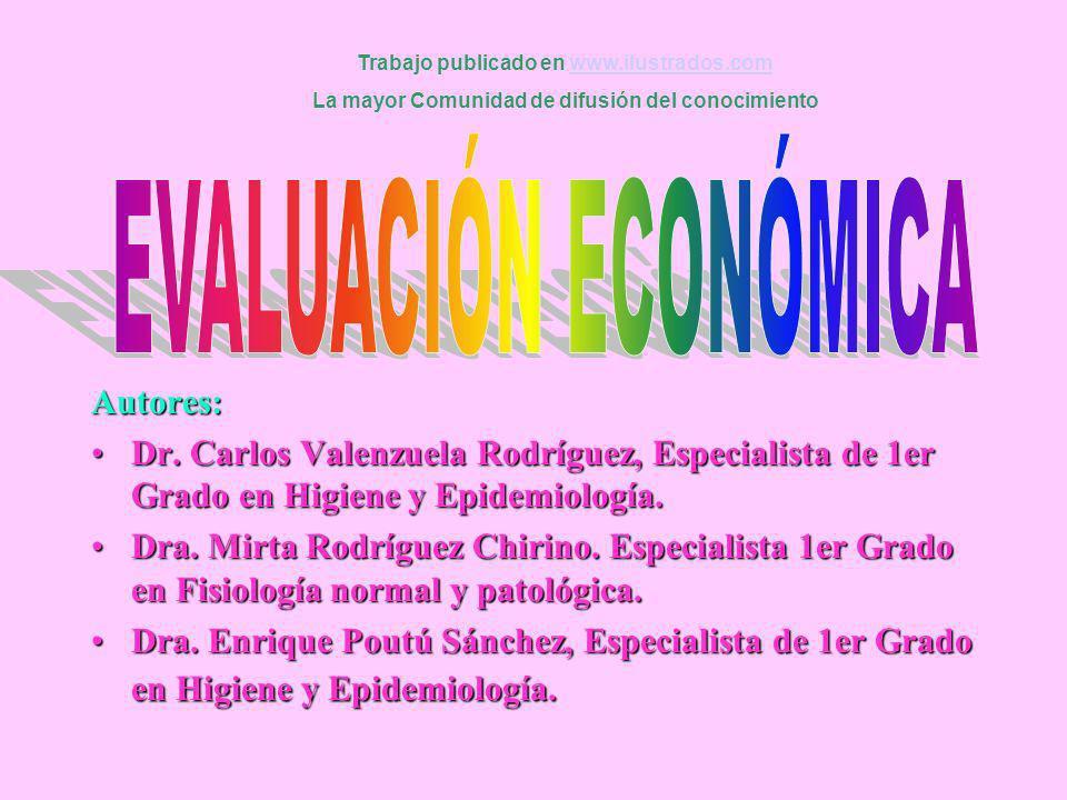 Autores: Dr. Carlos Valenzuela Rodríguez, Especialista de 1er Grado en Higiene y Epidemiología.Dr. Carlos Valenzuela Rodríguez, Especialista de 1er Gr