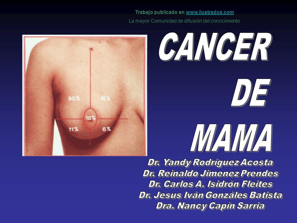 Seguimiento de la paciente operada de cáncer de mama El fín del seguimiento de la paciente operada de cáncer de mama persigue la detección precoz de la recidiva y por lo tanto aumentar la supervivencia de las pacientes.