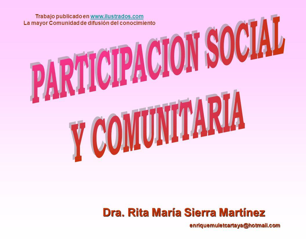 Objetivo Conocer los fundamentos teóricos con la participación social y comunitaria para su aplicación en su desempeño como MGI – Básico en la APS Conocer los fundamentos teóricos con la participación social y comunitaria para su aplicación en su desempeño como MGI – Básico en la APS
