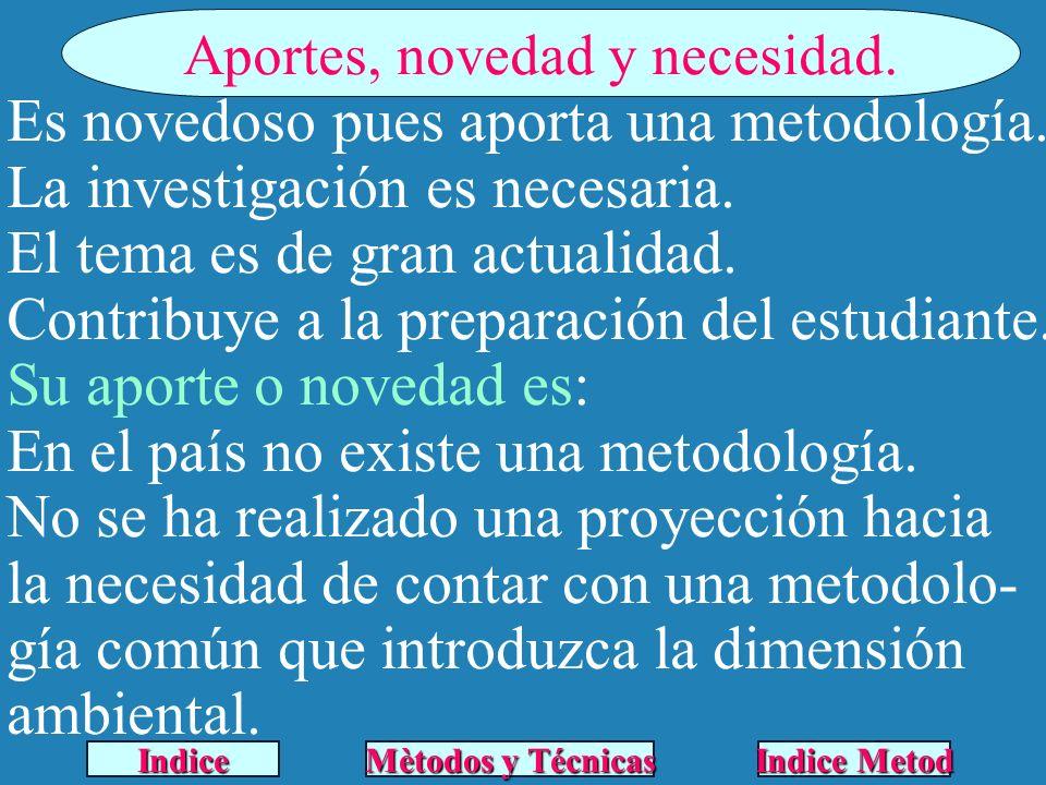 Metodología Propuesta.1era Etapa. Preparación General.