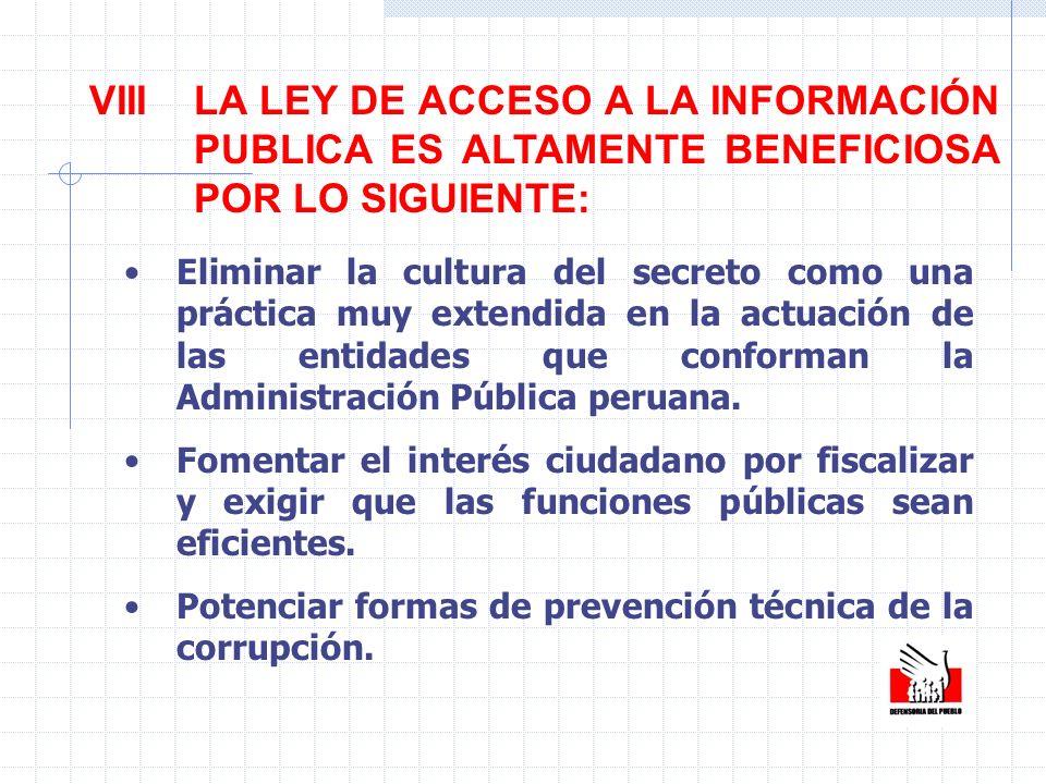 Eliminar la cultura del secreto como una práctica muy extendida en la actuación de las entidades que conforman la Administración Pública peruana. Fome