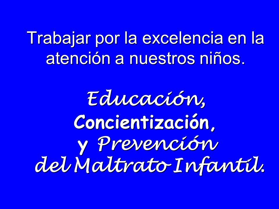 Recomendaciones: Educar a la población, para evitar las concecuencias para la salud de los niños, fundamentalmente cuando la intención de este tipo de