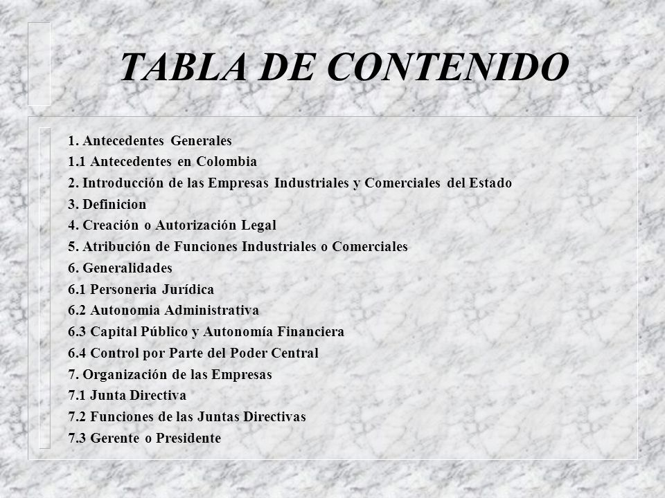 EMPRESAS INDUSTRIALES Y COMERCIALES DEL ESTADO ADMINISTRACIÓN Y GESTIÓN PÚBLICA Andrés Quijano Ponce de León aquijanop17@yahoo.com Trabajo publicado e