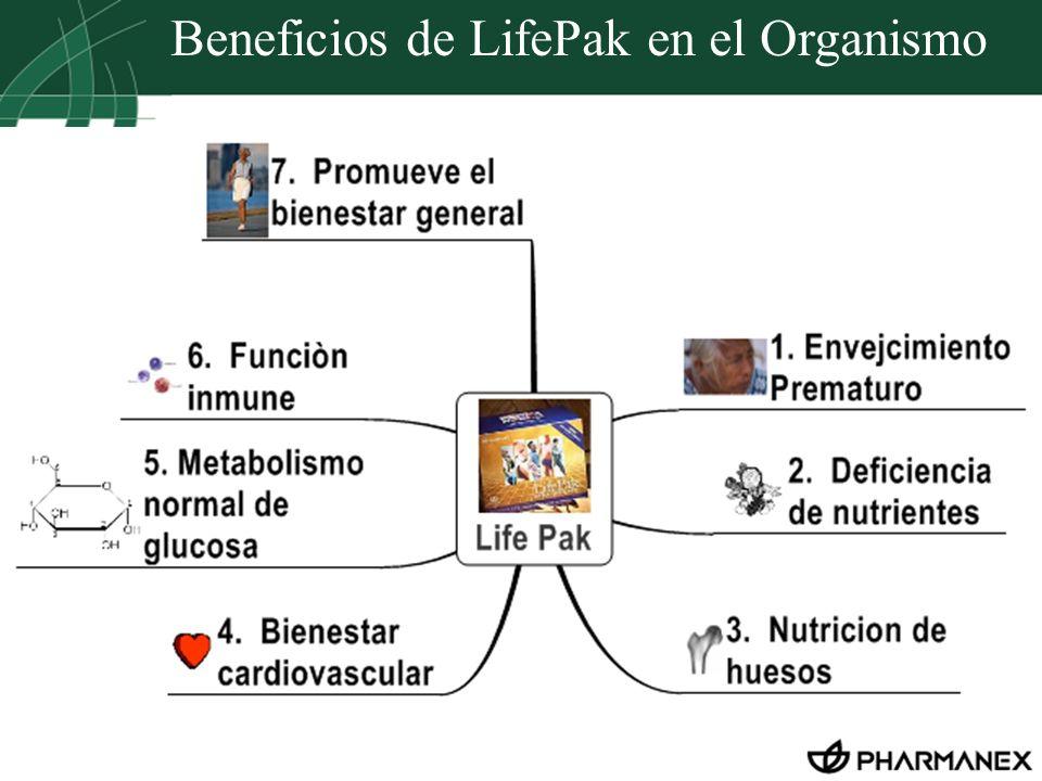Beneficios de LifePak en el Organismo
