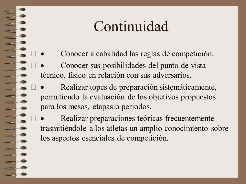 Metodología. Factores determinantes en la preparación táctica de los competidores. Conocer sus principales contrarios( Caracterización). Durante las s