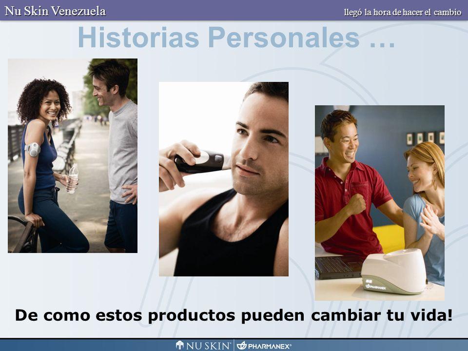 Historias Personales … De como estos productos pueden cambiar tu vida! Nu Skin Venezuela llegó la hora de hacer el cambio
